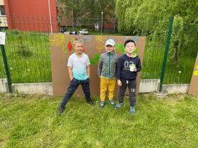 2021 - Malování s Adolfem Dudkem. Akce s rodiči ke Dni dětí. 27. 5. 2021