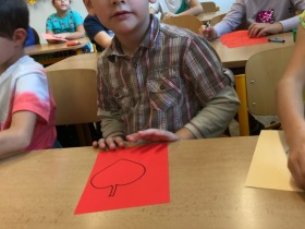 Návštěva základní školy říjen 2019